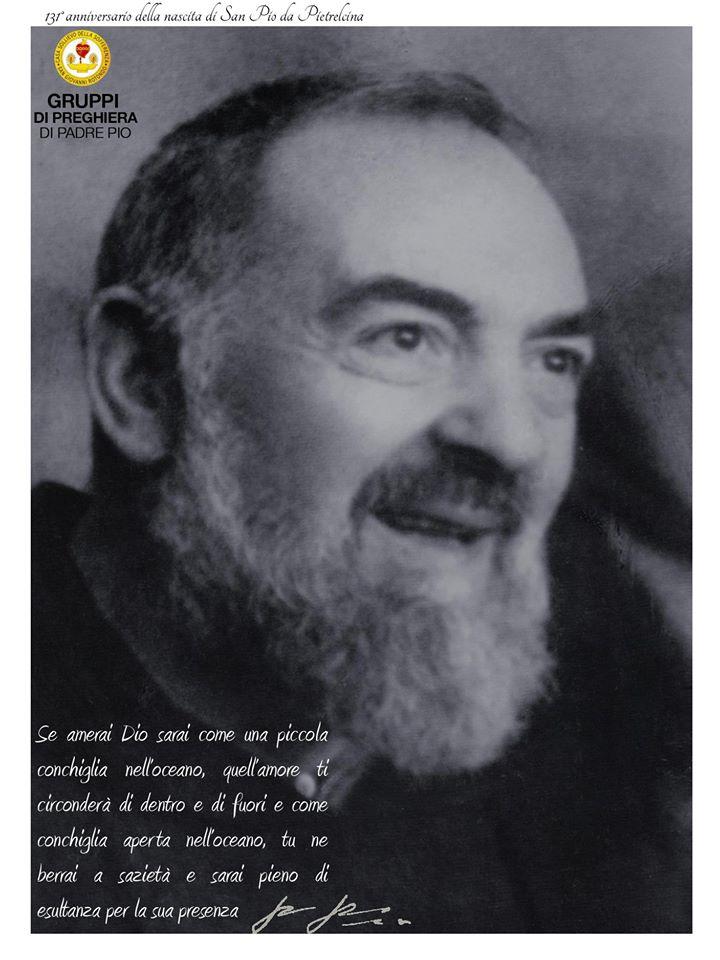 Santo Padre Pio De Pietrelcina Pensamientos Del Padre Pio