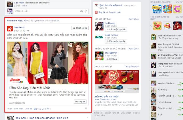 viết bài quảng cáo bán hàng trên facebook