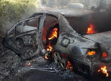 Duas pessoas morrem carbonizadas após batida entre veículos na BR-101