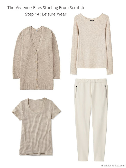 How to Build a Capsule Wardrobe: Starting From Scratch, Stage 4 - a beige core wardrobe