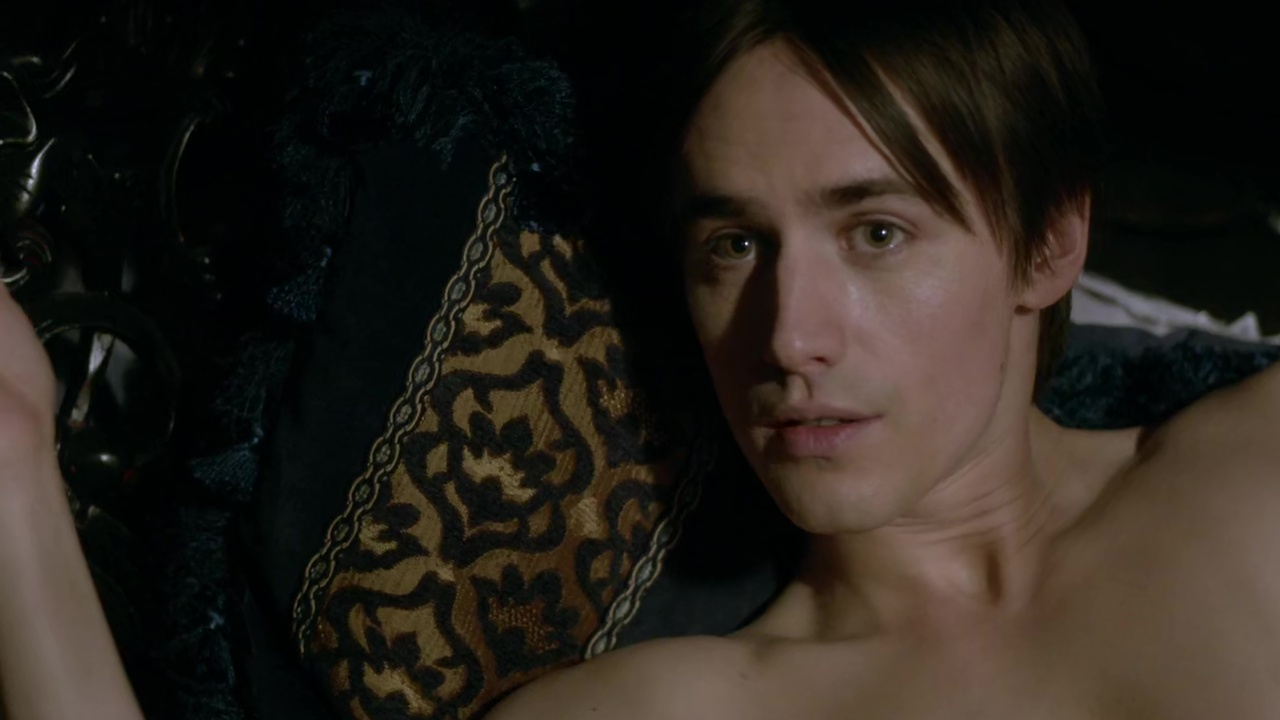 ausCAPS: Reeve Carney shirtless in Penny Dreadful 3-03