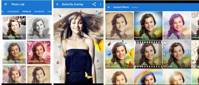 التطبيق الرائع للتعديل على صورك بإحترافية Photo Lab PRO المدفوع