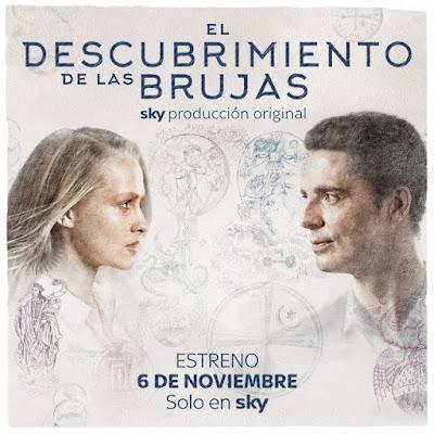"""TV Series: Reseña de """"El descubrimiento de las Brujas"""" de Deborah Harkness - SKY"""