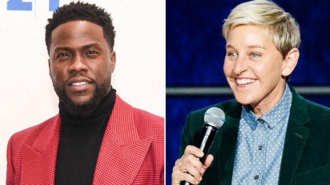 Video: Ellen urges Kevin Hart to reconsider hosting the Oscars