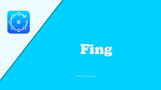 تطبيق Fing لعمل ال network scanner
