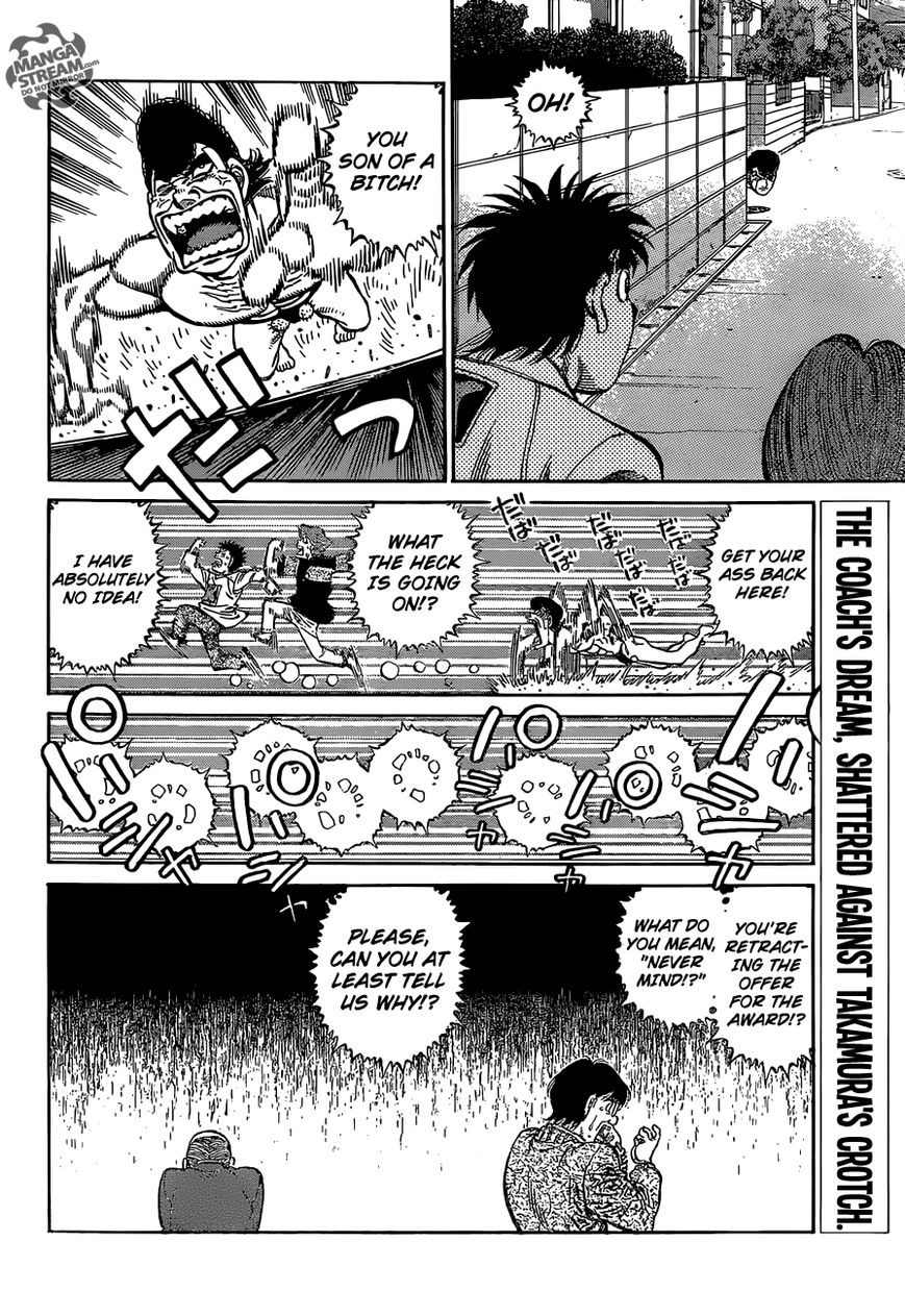 Hajime no Ippo - Chapter 1122