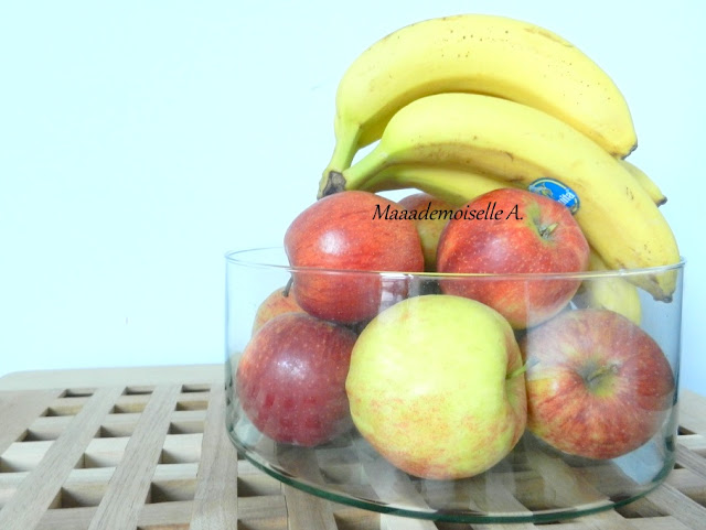 Pommes et bananes