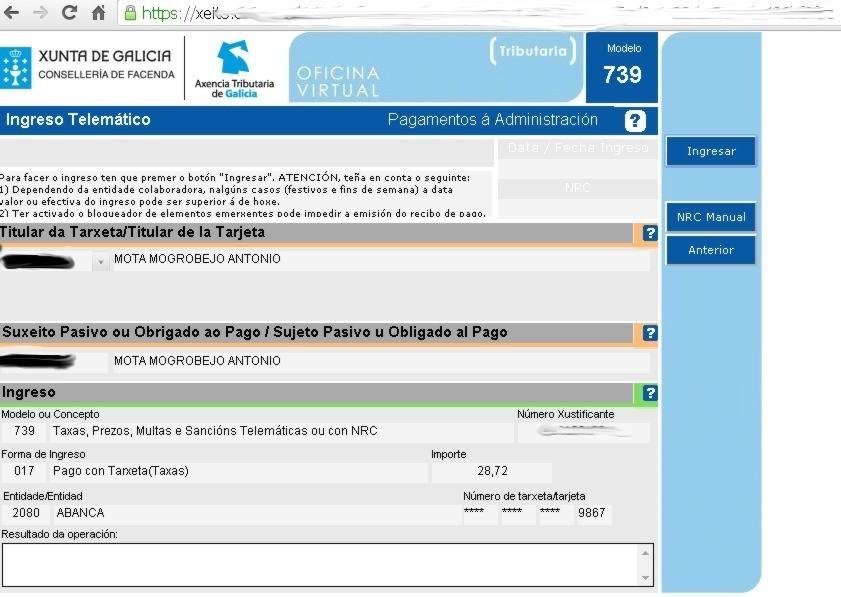 Unitega hemos probado la oficina virtual de la xunta de for Oficina virtual de empleo galicia