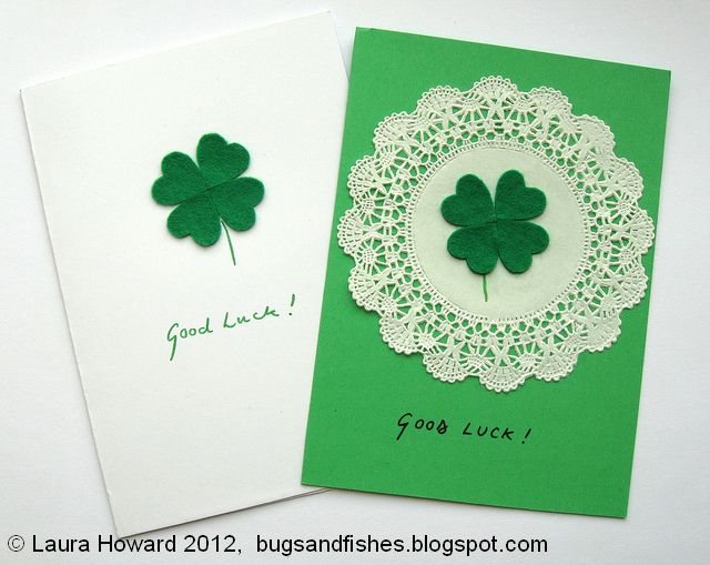 http://bugsandfishes.blogspot.co.uk/2012/03/diy-lucky-four-leaf-clover-card.html