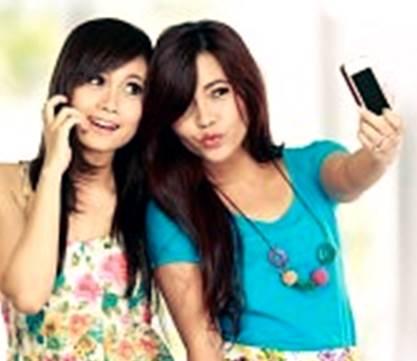 cara agar foto selfie cantik dengan camera handphone biasa