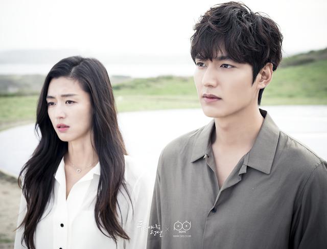 blue sea lee min ho and  jun ji hyun