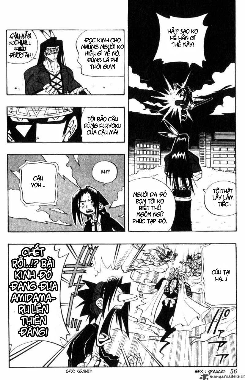 Shaman King [Vua pháp thuật] chap 29 trang 8