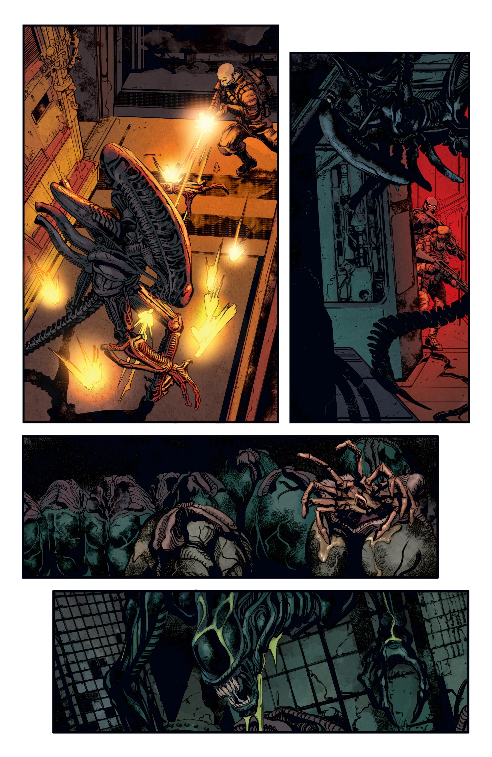 Read online Aliens: Defiance comic -  Issue #12 - 13