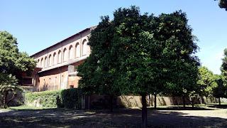 santa sabina abside fora - Basílica de Santa Sabina