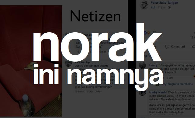 Norak! Netizen Yang Tidak Menghargai Sesudah Nonton Bioskop April 2019