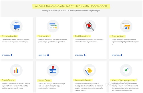 think-with-google-tools