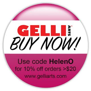 gelli arts discount 10% code gelliarts.com HelenO