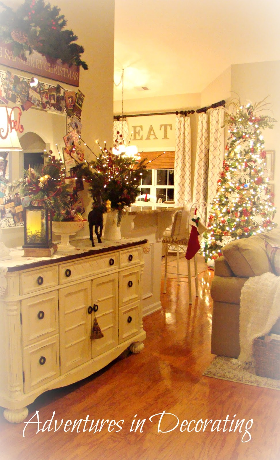 Decorating Great Room Living Area: Adventures In Decorating: Christmas In The Great Room