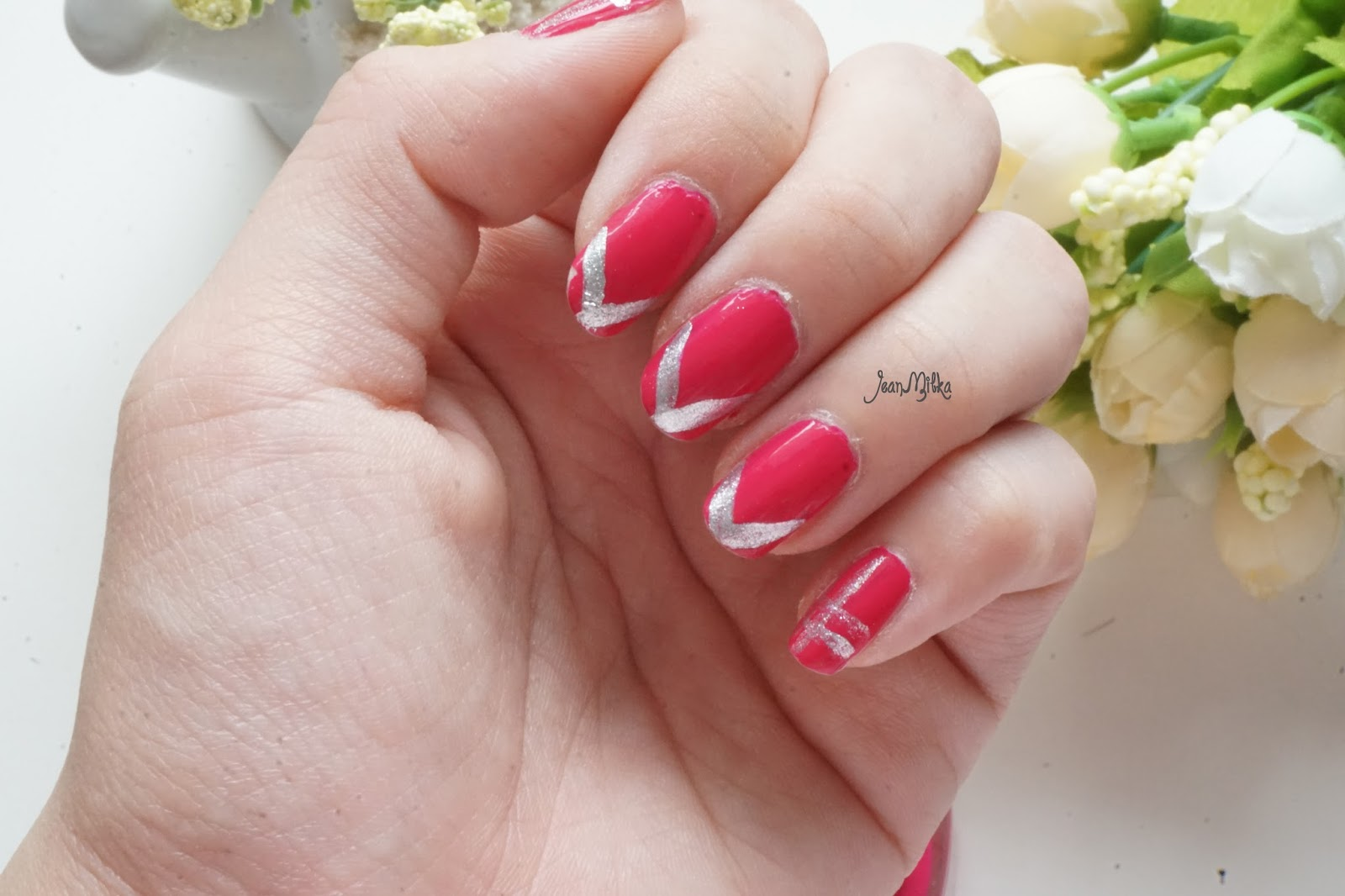 nail art, simple, nail tutorial