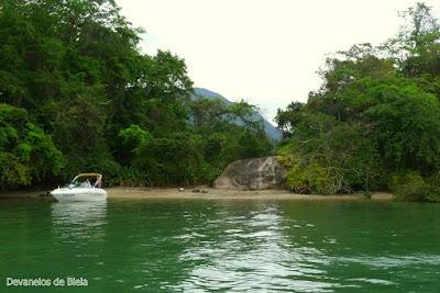 Passeio de barco em Paraty - Ilha da Cotia
