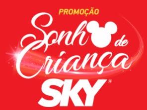 Cadastrar Promoção Sky Sonho de Criança 2017 Viagens Disney