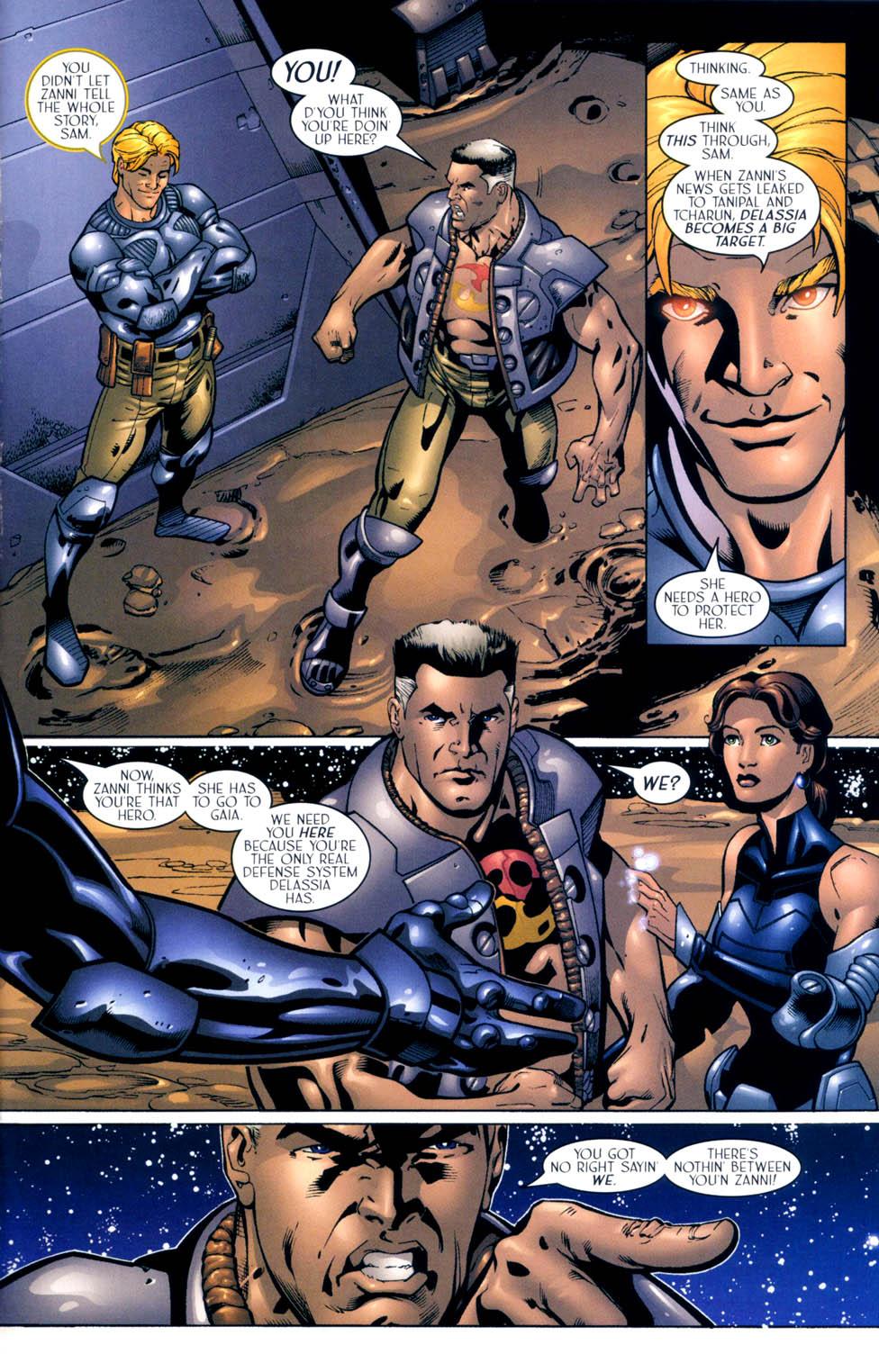 Read online Sigil (2000) comic -  Issue #10 - 16