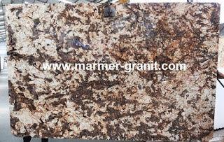 Splendor Granit untuk meja dapur unik