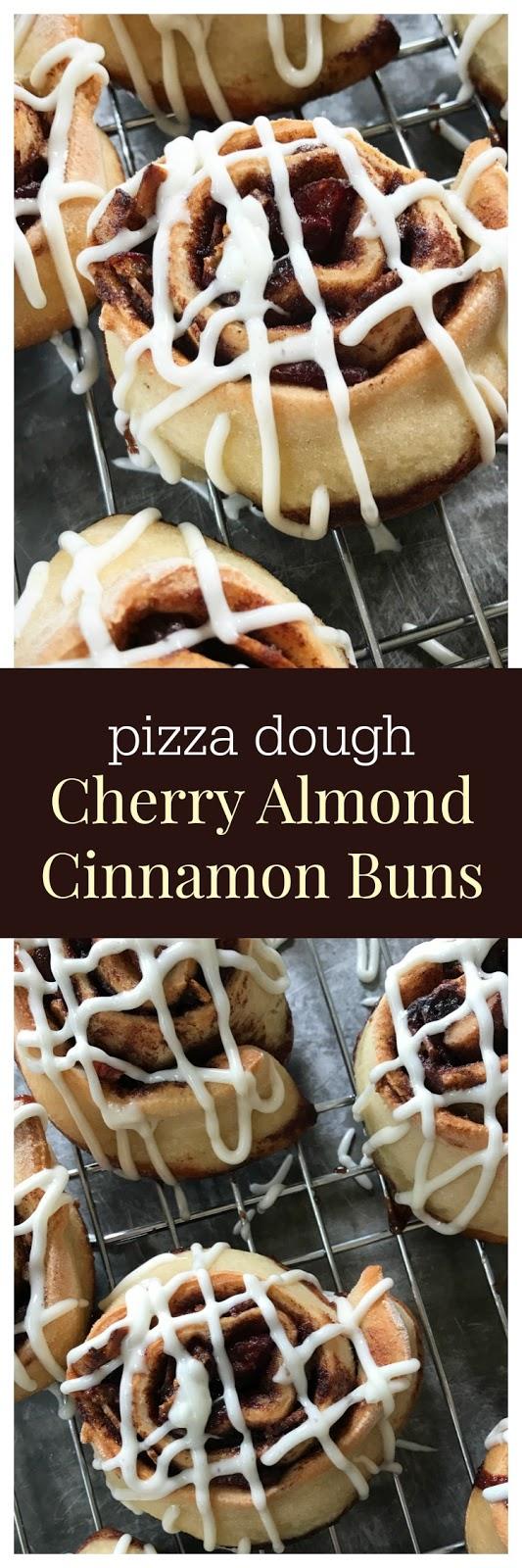 cherry almond cinnamon roll pizza dough recipe