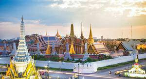 Wat Phra Kaew is the Emerald Buddha Temple