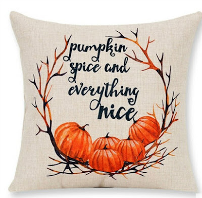 Pumpkin Pillow featured on Walking on Sunshine