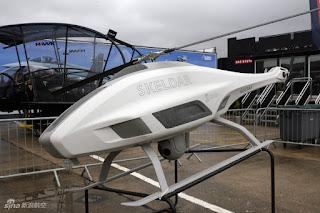 Mantap ! Drone Helikopter Saab Skeldar V-200, Untuk Misi Intai Maritim Telah Siap Dikirim Ke Indonesia ! - Commando