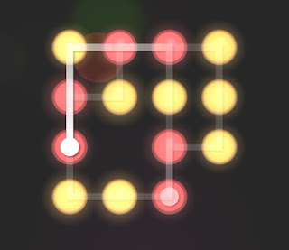 Solution, Cheats, Walkthrough for Neon Hack [Neon Dots] Level 59
