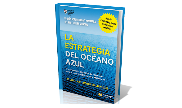 libro Estrategia del Océano Azul de W. Chan Kim