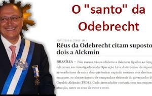 """Valor: três delatores da Odebrecht confirmam caixa 2 para o """"Santo"""" Alckmin"""