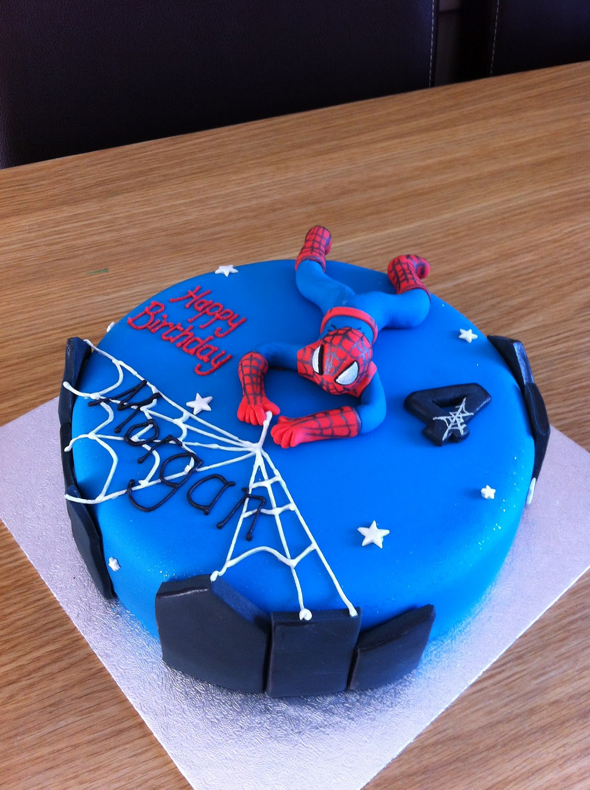 Caked In Icing Spiderman Cake