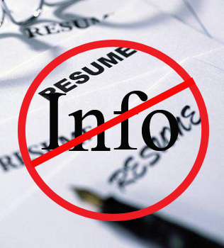 mind blowing resources 10 things you should not have on your resume