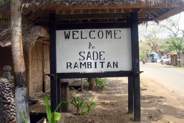 Rumah Adat Dusun Sade di Lombok