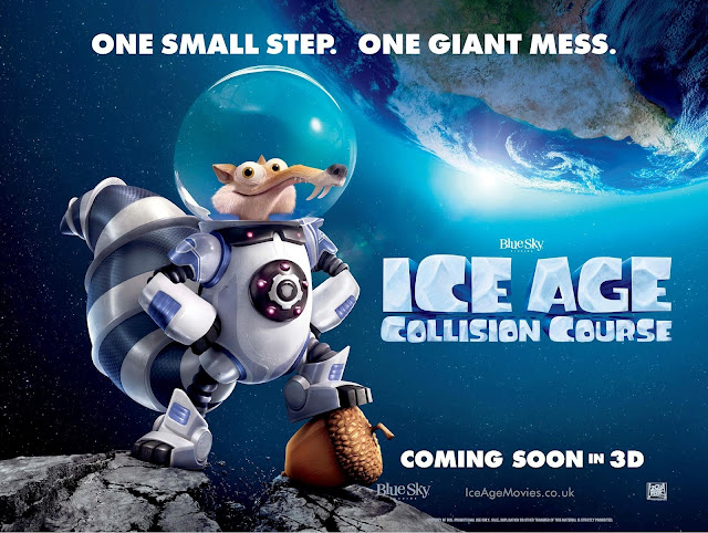 "Ice Age 5 - ""Collision Course"" Release Date In USA And Official Poster"