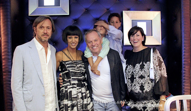 Marc Newson, Gelila Assefa, Wolfgang Puck, Lauren Taschen © George Leon still and motion
