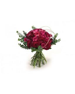 זר ורדים רומנטי