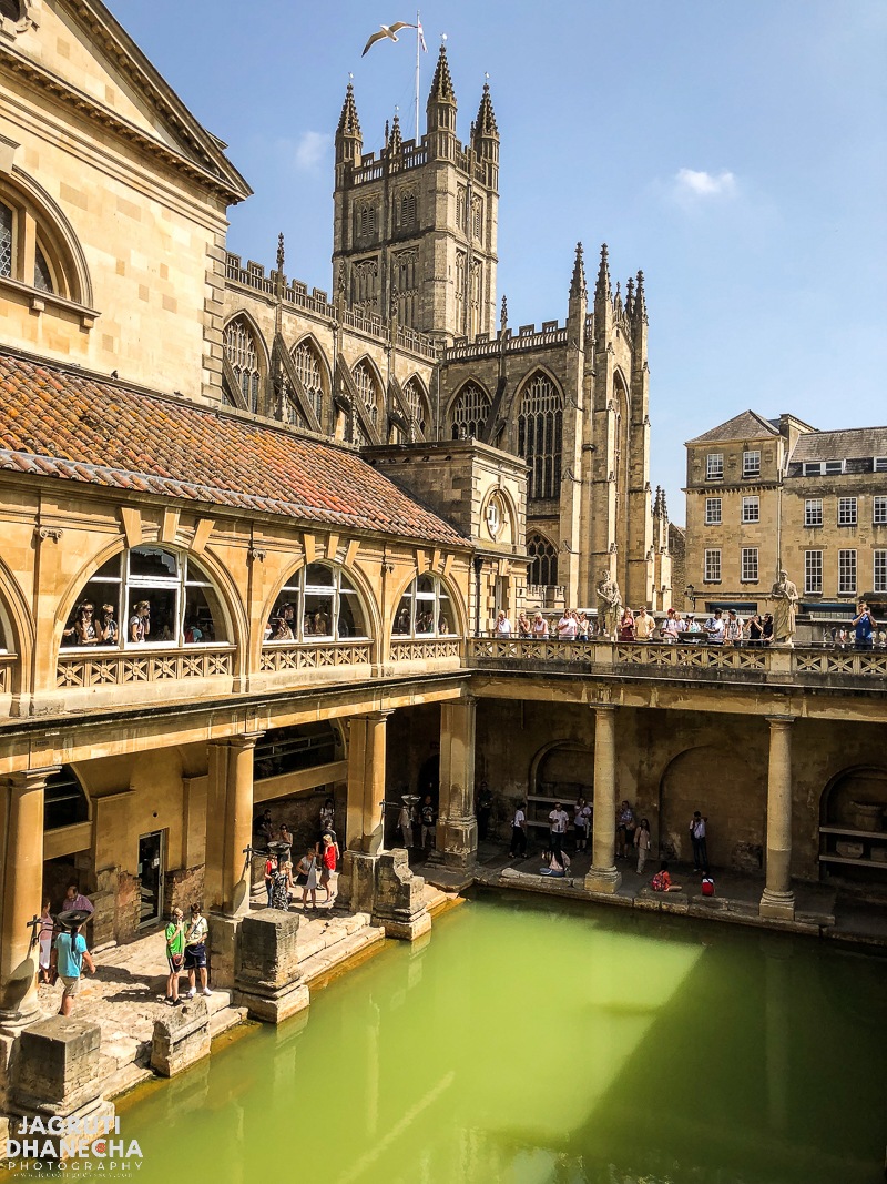ancient roman baths in bath united kingdom