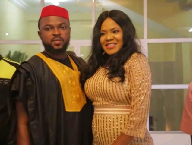 Toyin Abraham Snubs Haters, Flaunts Bumps, Show off Her New Husband, Kolawole Ajeyemi In New Photos
