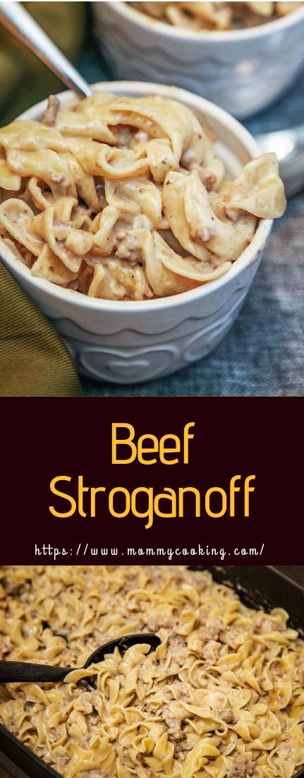 Beef Stroganoff #dinner #beefrecipe
