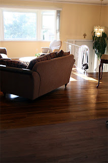 Hardwood Floor Refinishing with No Dust