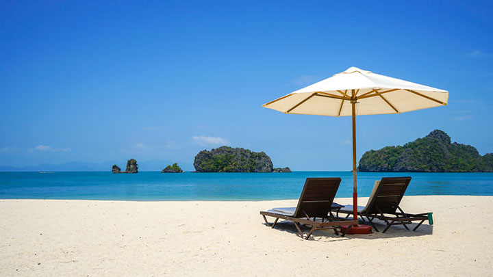 Pantai Cantik di Langkawi