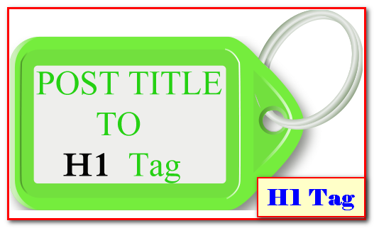 Optimize Post Title with H1 tag