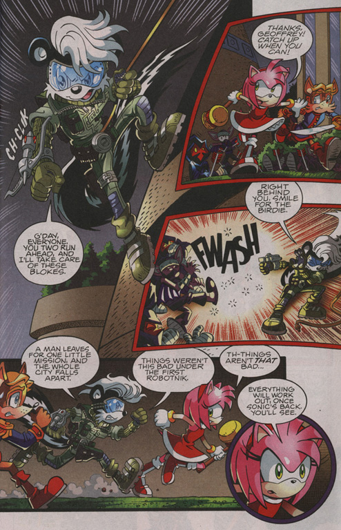 Read online Sonic The Hedgehog comic -  Issue #210 - 6