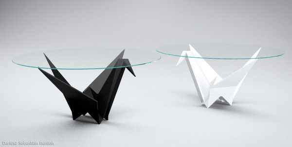 Charmant Origami Inspire Table Design