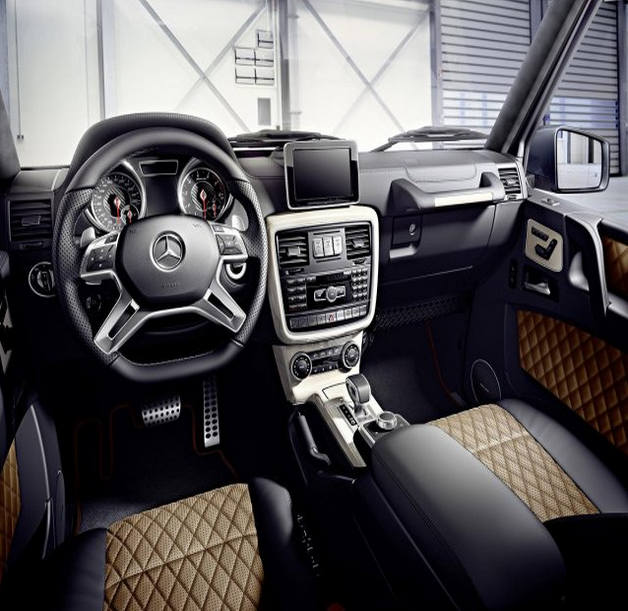 2016 Mercedes-Benz G-Class Interior View