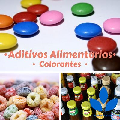 Colorantes alimentarios